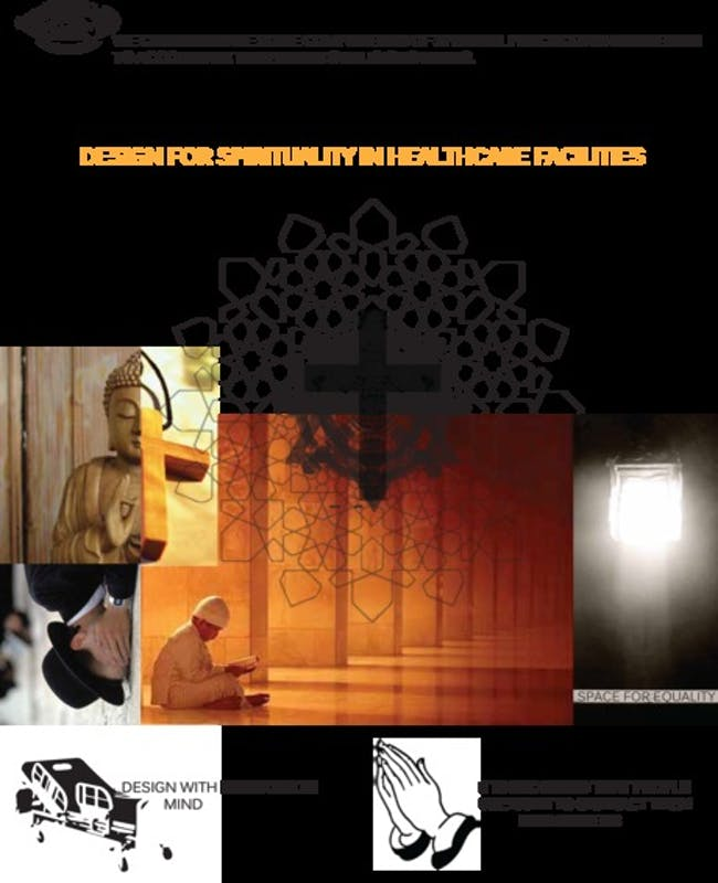 research on spiritual design in healthcare facilities via Dave Tran