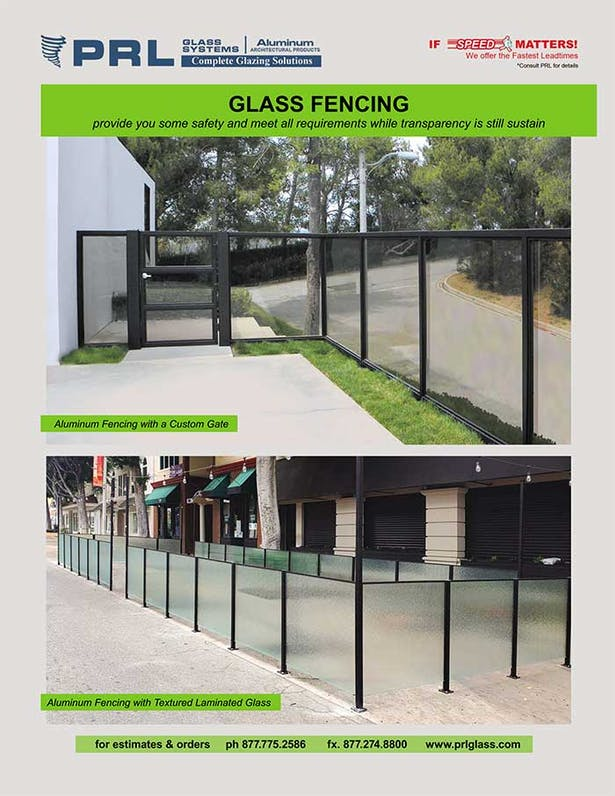 Glass Fencing. How Many Designs? See at PRL