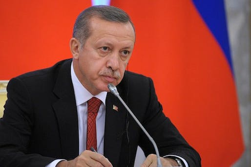 The Turkish Prime Minister Recep Tayyip Erdogan. Image via wikimedia.org