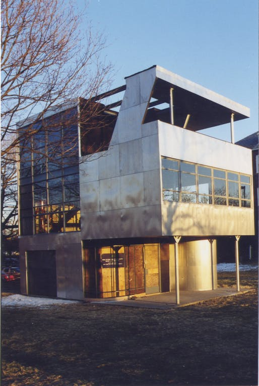 Kocher and Frey built The Aluminaire House in 1931 for an exhibit in New York City. The House became an exemplary prototype of modern building forms and techniques, and addressed issues of available affordable housing in New York neighborhoods.