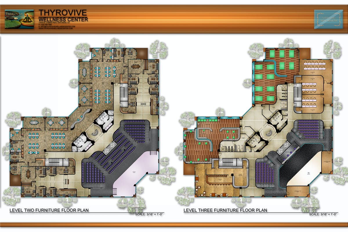 Thyrovive wellness center furniture floor plans for Floor plan project