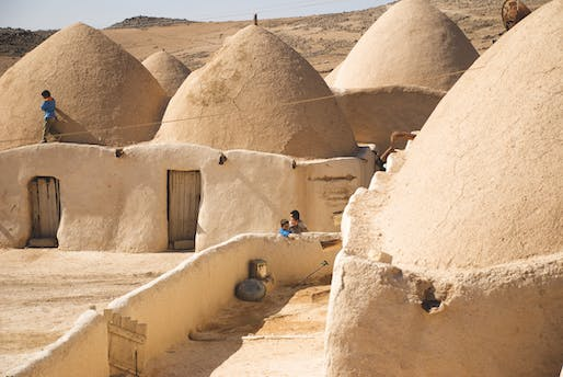 Syrian domes. © Saverio Mecca
