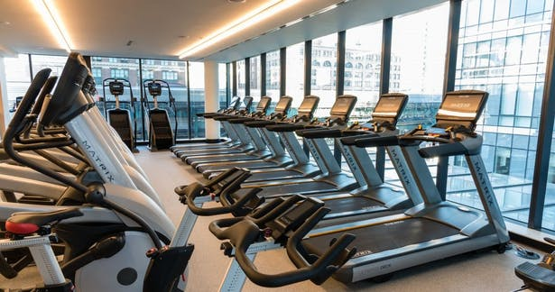 View of the Fitness Center on the 4th floor