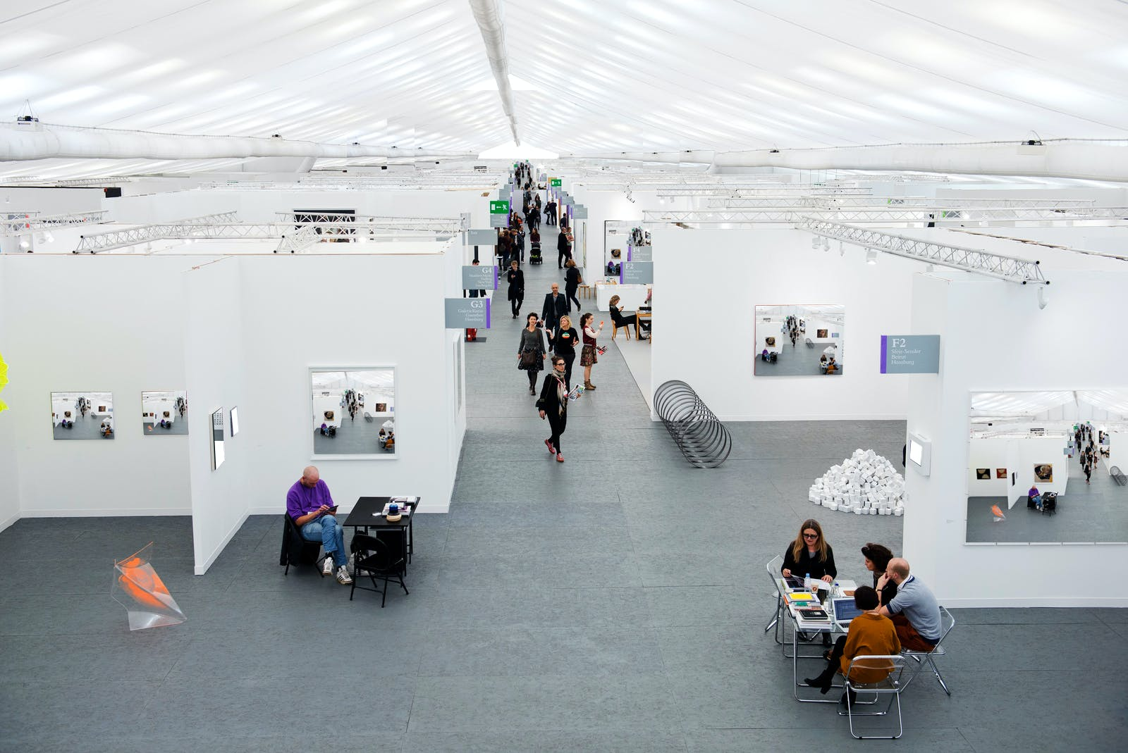 white space the architecture of the art fair features archinect