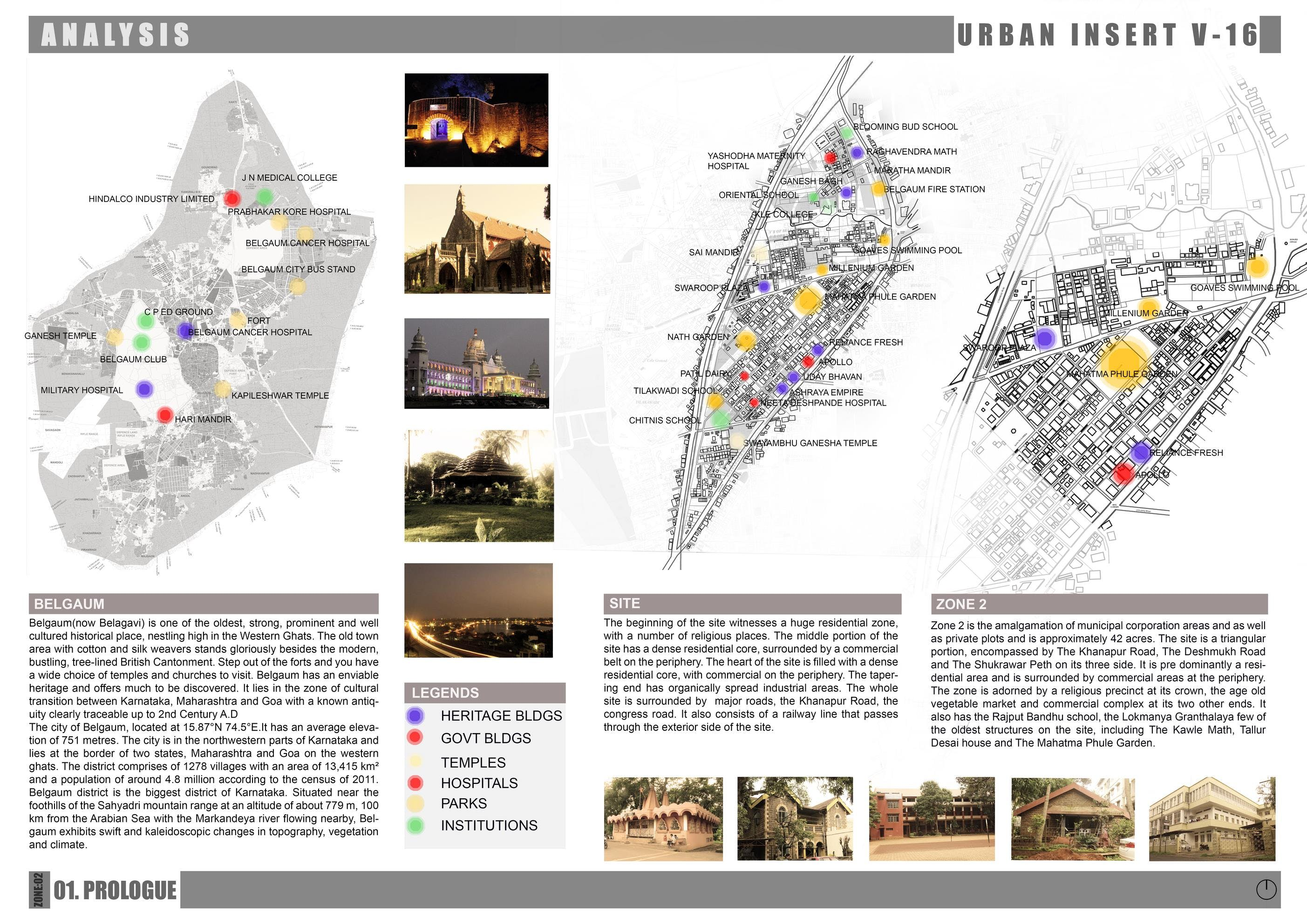 Urban Design Character Analysis : Urban design site analysis documentation mayuresh