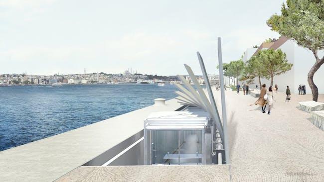 Hydraulic Gangway. Image: Dror + Gensler.
