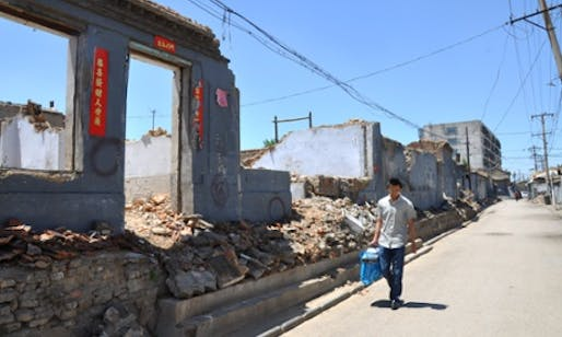 Many locals were evicted and the land sold to developers. (The Guardian; Photograph: Yuan Ren)