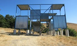 "Take a look at Cal Poly's nine-acre collection of experimental structures, aka ""The Architecture Graveyard"""