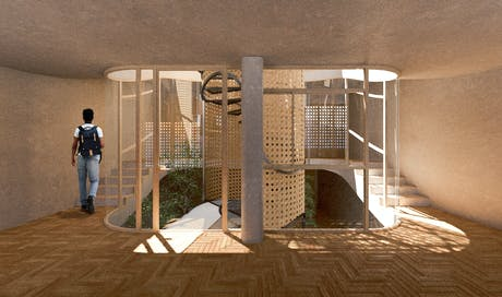 Drop House attempts to break conventional design within a residential program situated in the Andes region of Ecuador.