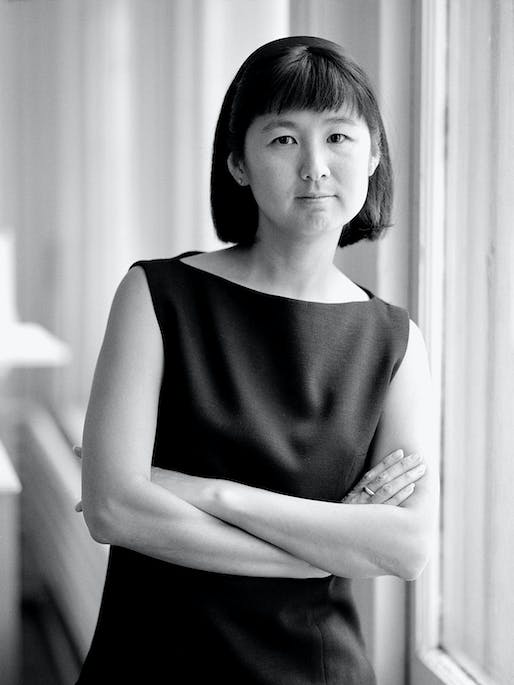 Maya Lin: 21st Annual Dorothy and Lillian Gish Prize recipient. Photo by Walter Smith.