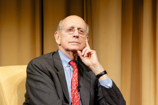 Justice Stephen Breyer, Supreme Court Associate Justice. Courtesy of the U.S. National Archives.