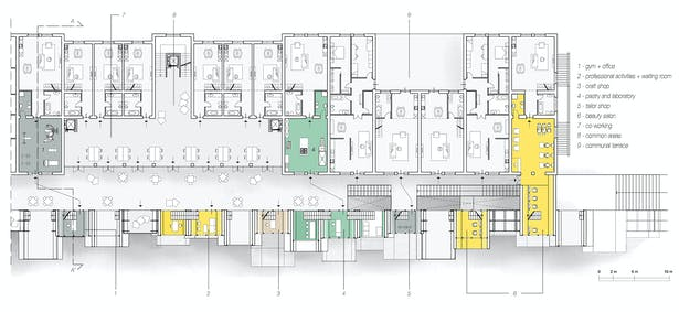 Palazzina Truppe 3rd Floor