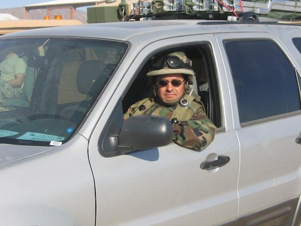 Jaime F. Bautista. Going field inspection