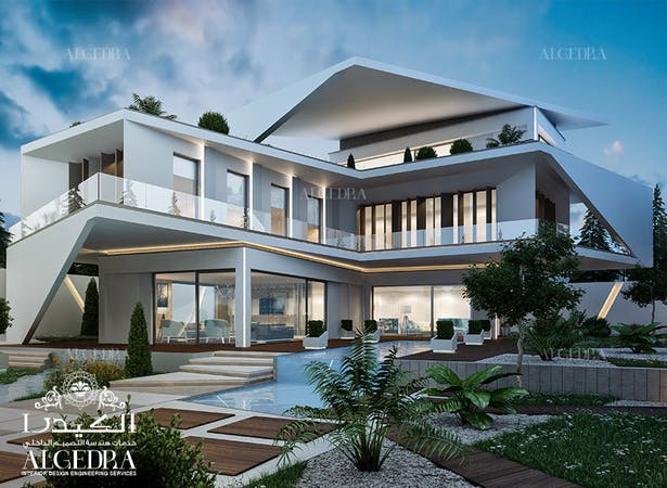 Luxury Modern Villa Design Concept Algedra Design Archinect