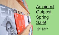 Archinect Outpost to host Spring Sale May 25th