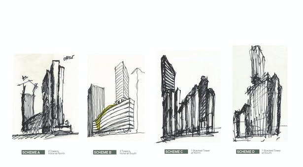 Design Sketches: Inspiration drawn from rock balancing