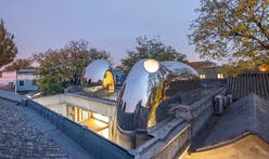 """MAD Architects' second """"Hutong Bubble"""" pops up in a renovated Beijing courtyard home"""