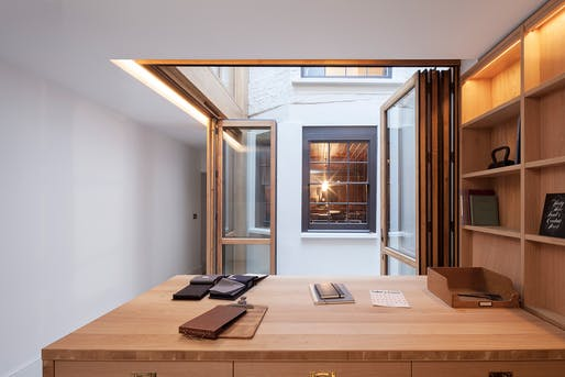 Lamb's Conduit Street, WC1 by Benedetti Architects for Connock and Lockie.