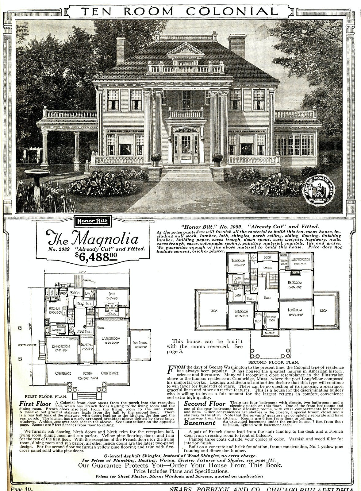 Sears Houses Floor Plans