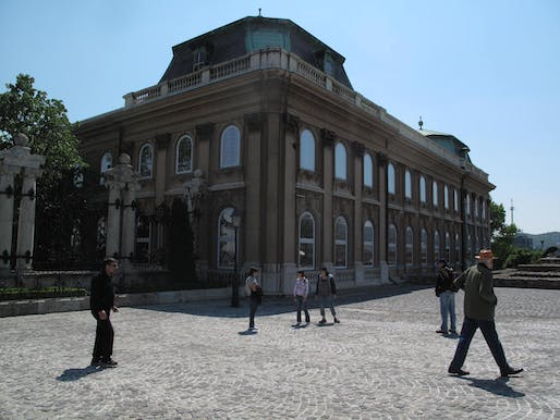 Hungarian National Gallery, where Prime Minister Viktor Orban intends to restore the palace's earlier grandeur and remove the Gallery as its tenant. Image via wikimedia.org.