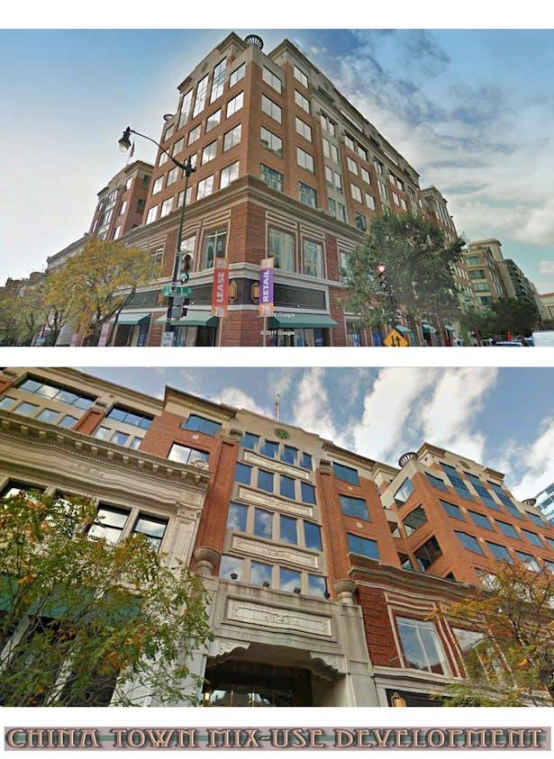 China Town Mix-Use Building, Washigton DC.