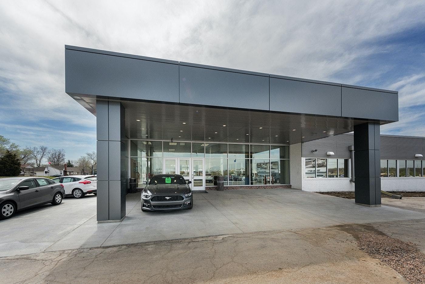 laird noller ford dealership addition  u0026 renovation