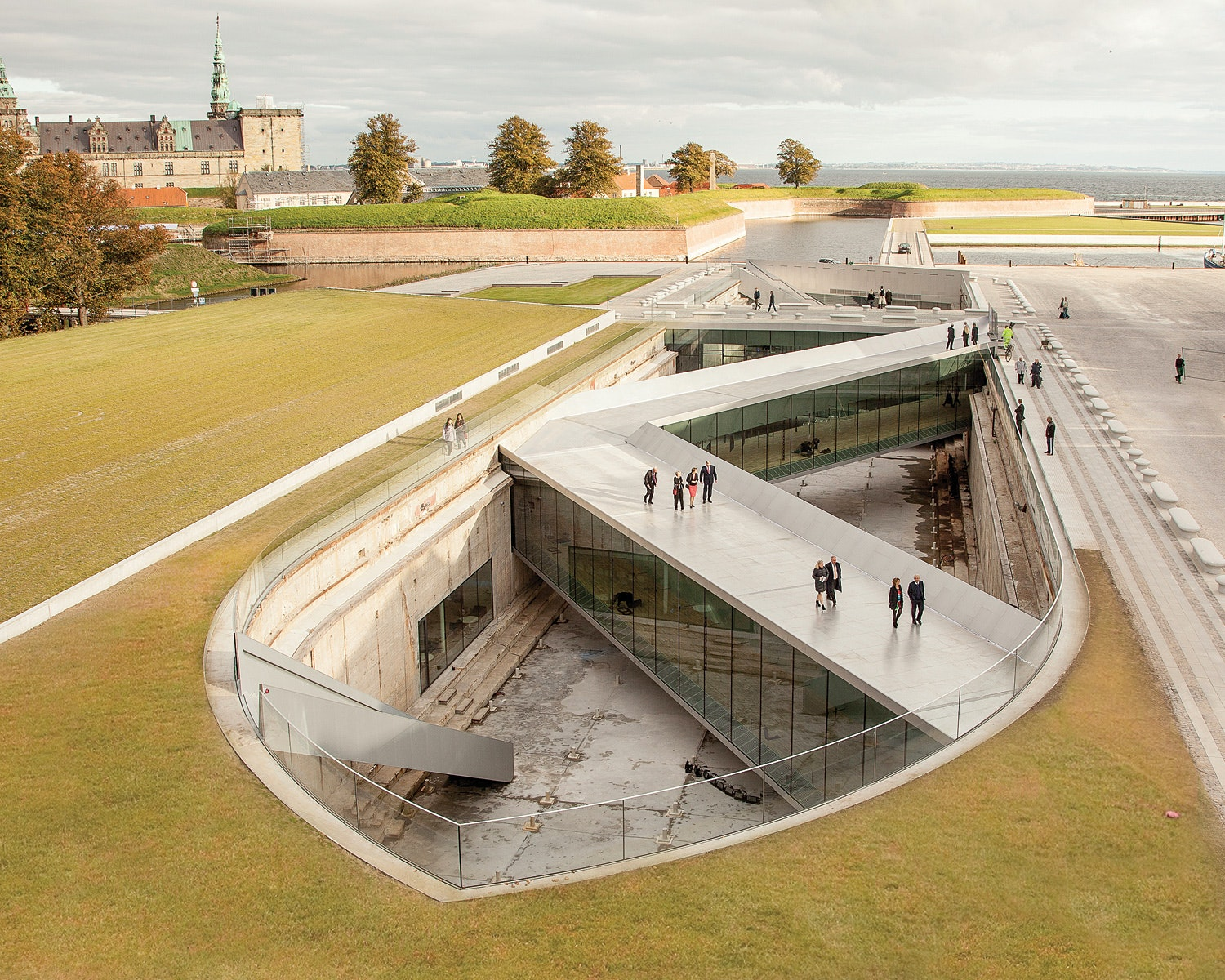 Danish Maritime Museum; Elsinore, Denmark By BIG | Bjarke Ingels Group.  Photo ©