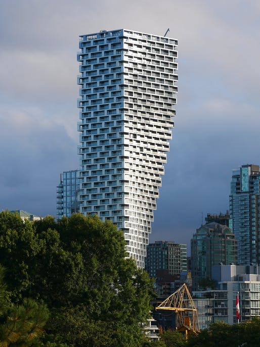 Vancouver House in Vancouver, Canada by Bjarke Ingels Group. Photo: Haatu/Flickr.