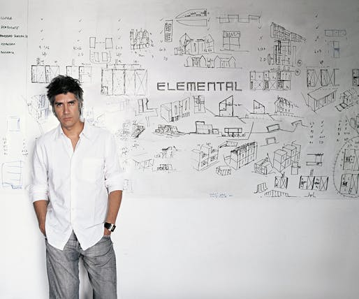 Alejandro Aravena. Photo by Cristobal Palma. Courtesy of ELEMENTAL.