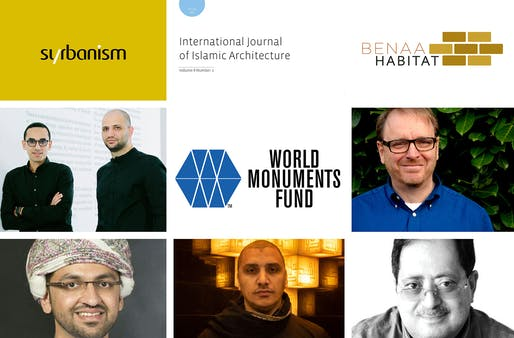 The shortlist of The Mohamed Makiya Prize for Architecture: The Middle Eastern Architectural Personality of the Year 2019