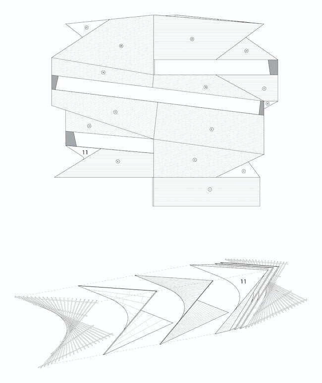 Construction detail, lightfall