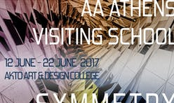 Apply now for the AA Athens Visiting School: Symmetry Sentience workshop