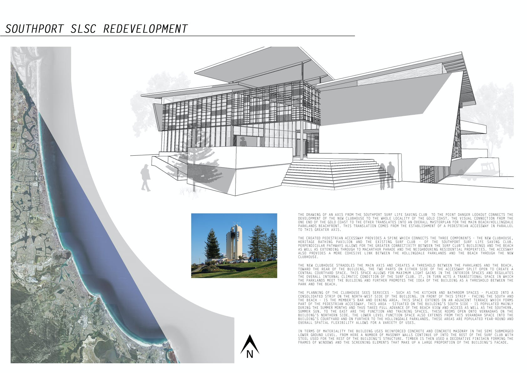 Southport slsc redevelopment jack guthrie archinect for The concept of space in mamluk architecture