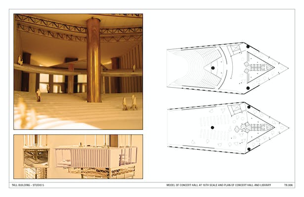 Model and Plan of Concert Hall