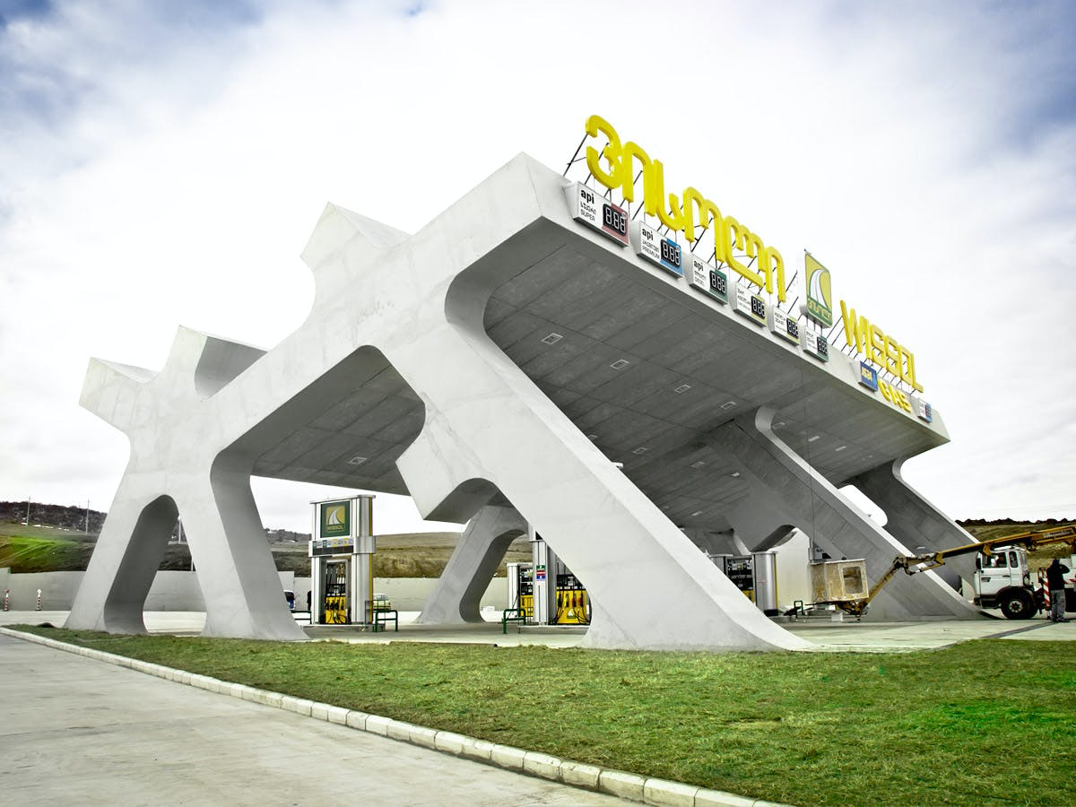 J. MAYER H. Designs a Series of Highway Rest Areas in Georgia ...