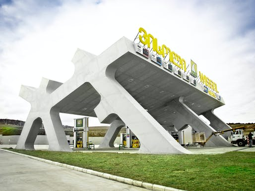 J. MAYER H.-designed HIghway Rest Area in Gori, Georgia (Photo: Jesko M. Johnsson-Zahn)
