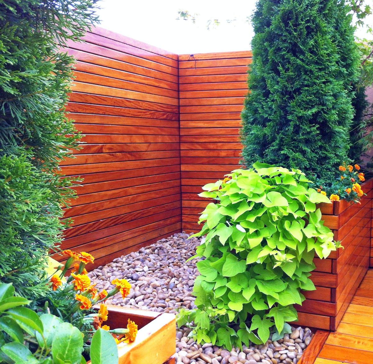 Nyc Garden Design Rooftop Zen Garden For Yoga Studio
