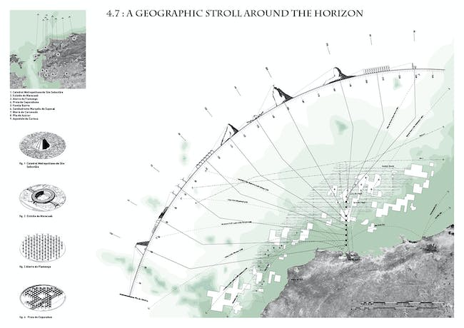Special Mention: 4.7: a geographic stroll around the horizon by Justin Garrison, Dorin Baul, Carla Landa and Rania Ghosn