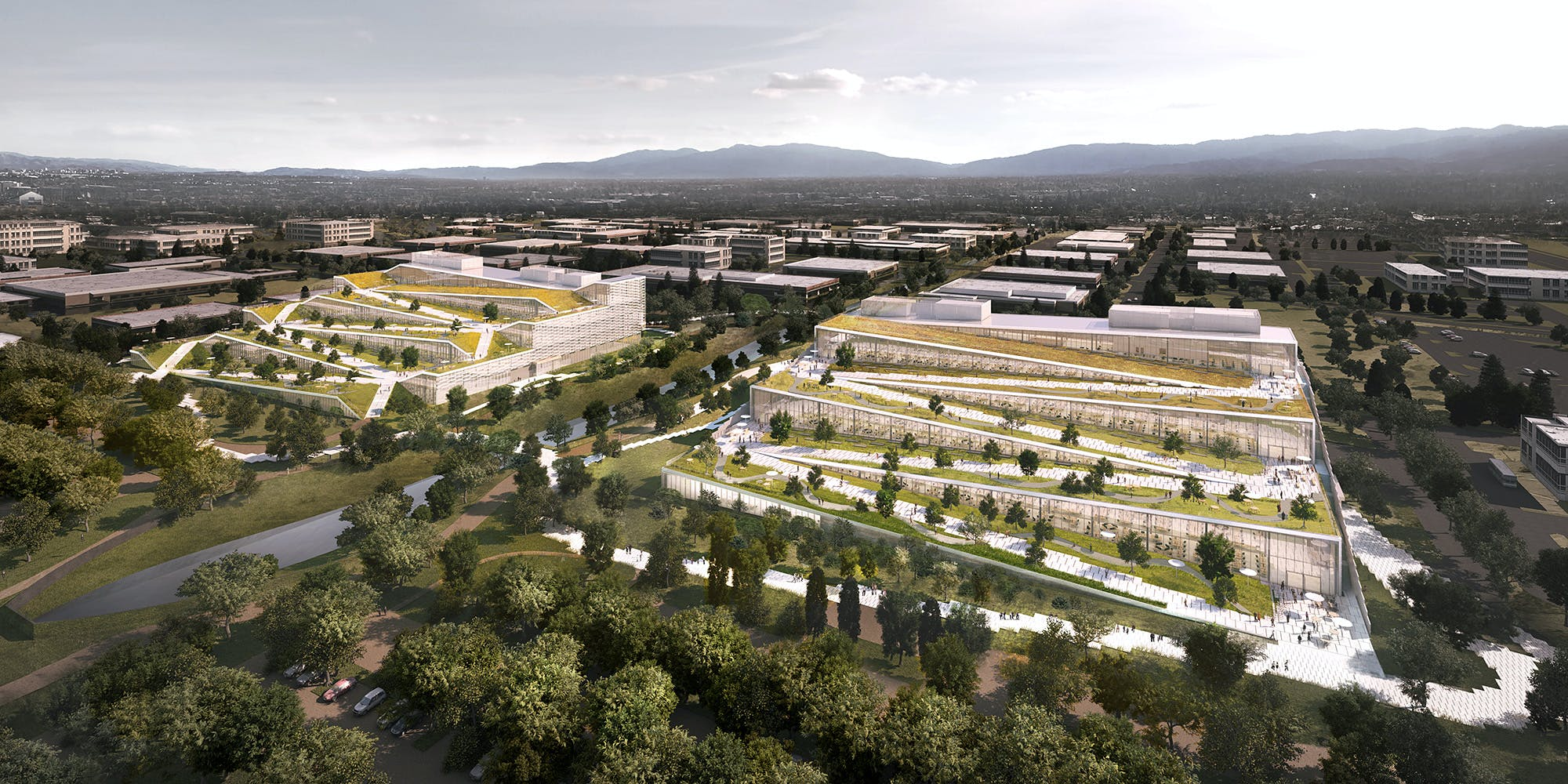 Google S Sunnyvale Plans Include Two Building By Bjarke