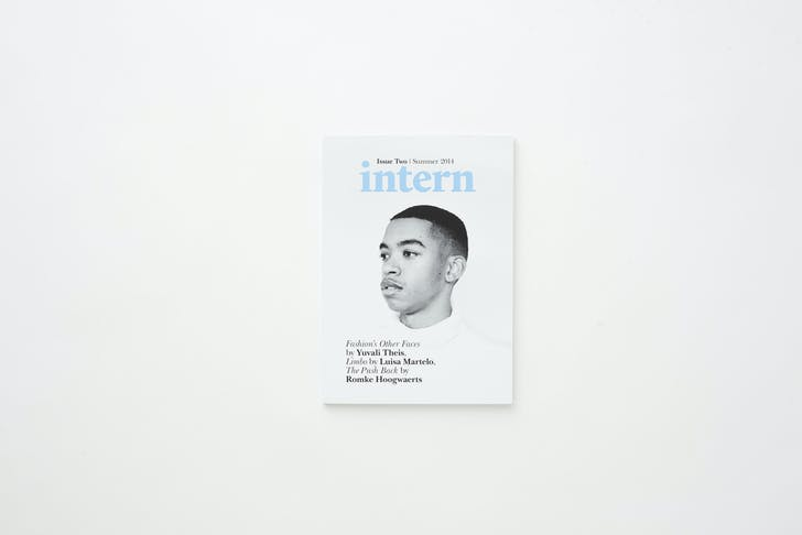 Intern Magazine, issue #2. Photo by Meagan Sarah Hodds.