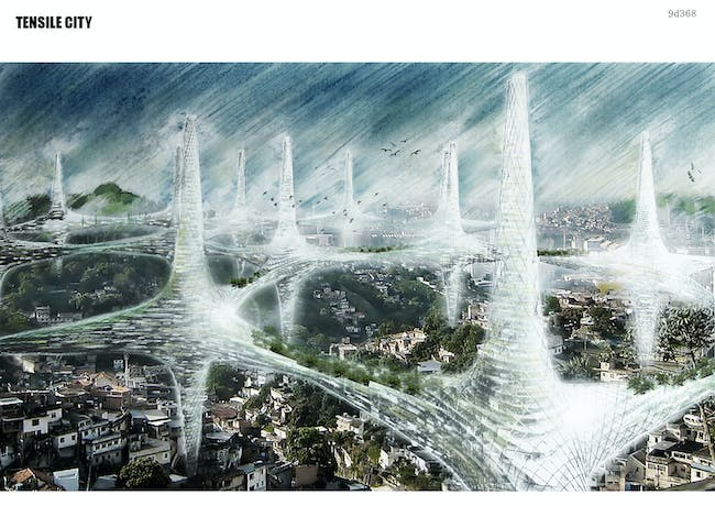 Special Mention: Tensile City by Kyo Seon Lee, Yoon Kee Hong and Jin Young Song