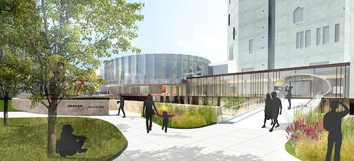 courtesy Fentress Architects and Machado Silvetti