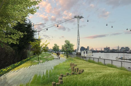 Urban landscape concept - O2 London