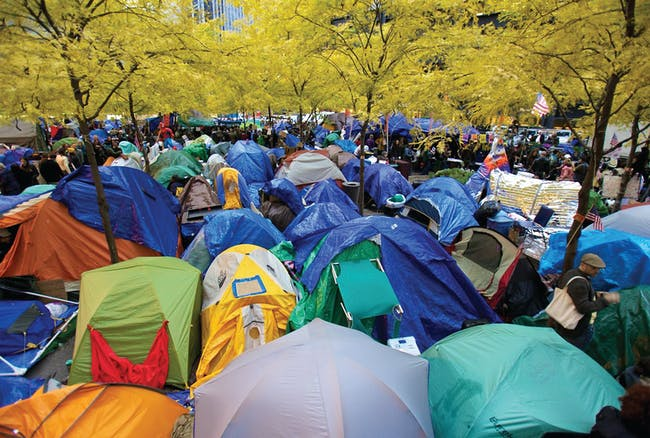 Occupy Wall Street, 2011