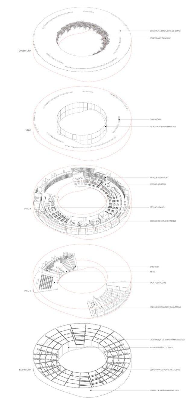 Axonometric view (Image- AND-RÉ)