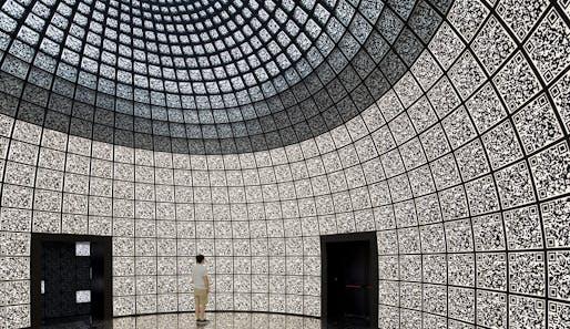 Russian Pavilion at the Venice Architecture Biennale designed by SPEECH Techoban/Kuznetsov (Sergei Tchoban, Sergey Kuznetsov, Marina Kuznetskaya, Agniya Sterligova).