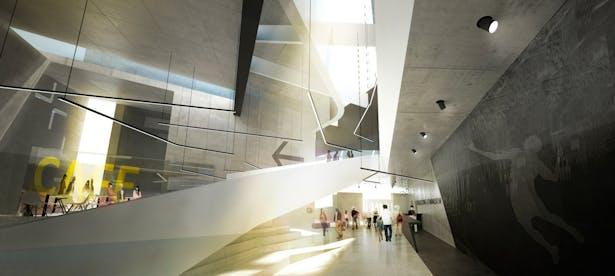 Sports Complex Project - Interiors