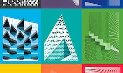 9 graphic posters inspired by Bjarke Ingels Group projects and syntax in architecture