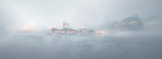 Guggenheim Helsinki concept sketch. © Moreau Kusunoki