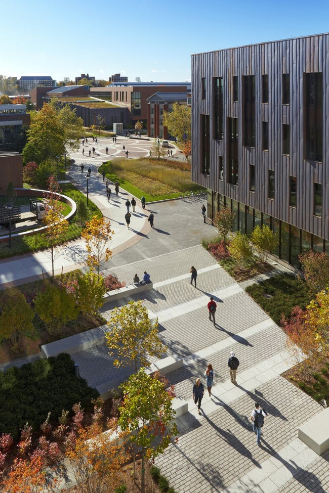 Oak & Laurel Halls - University of Connecticut in Storrs, CT by Leers Weinzapfel Associates